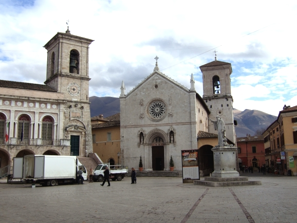 Main piazza of Norcia