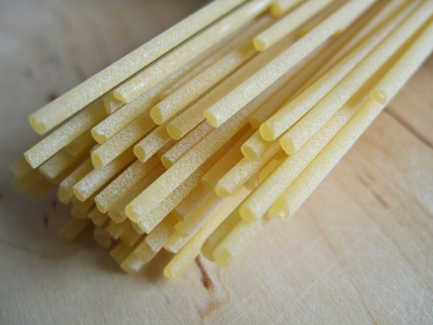 Surface texture of good dried pasta