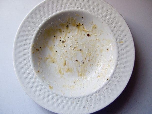The bowl, post-consumption