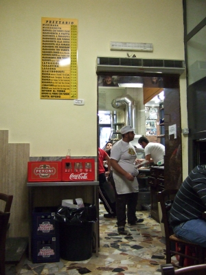 Di Matteo pizzeria in Naples, Italy