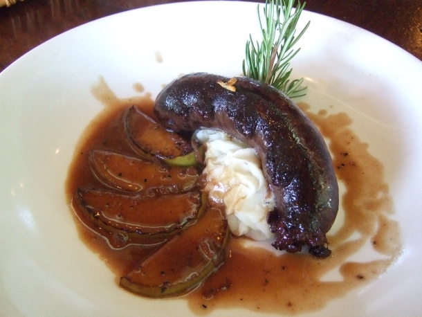 Boudin Noir at Cafe Rabelais