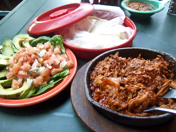 Chilorio and sides at Pico's
