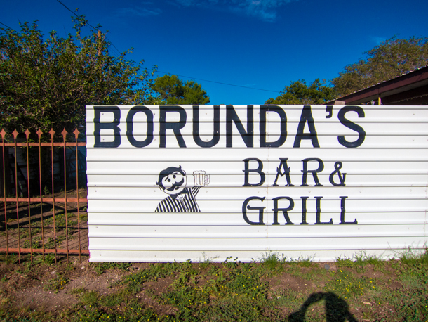 Borunda's Bar & Grill in Marfa, TX