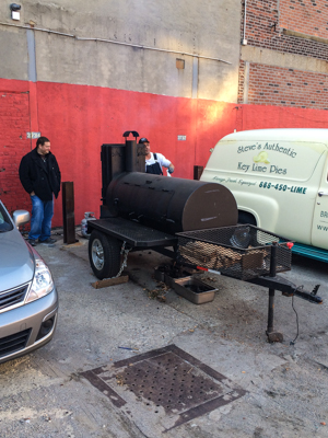 Hometown Bar-B-Que - Offsite smoker
